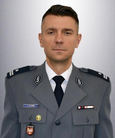 Komendanta podinspektot Tomasz Florek